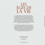"""""""Ages de la vie"""" front et back"""