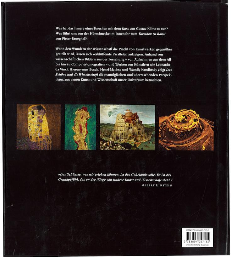 Das Schöne und die Wissenschaft - 4ème de couverture